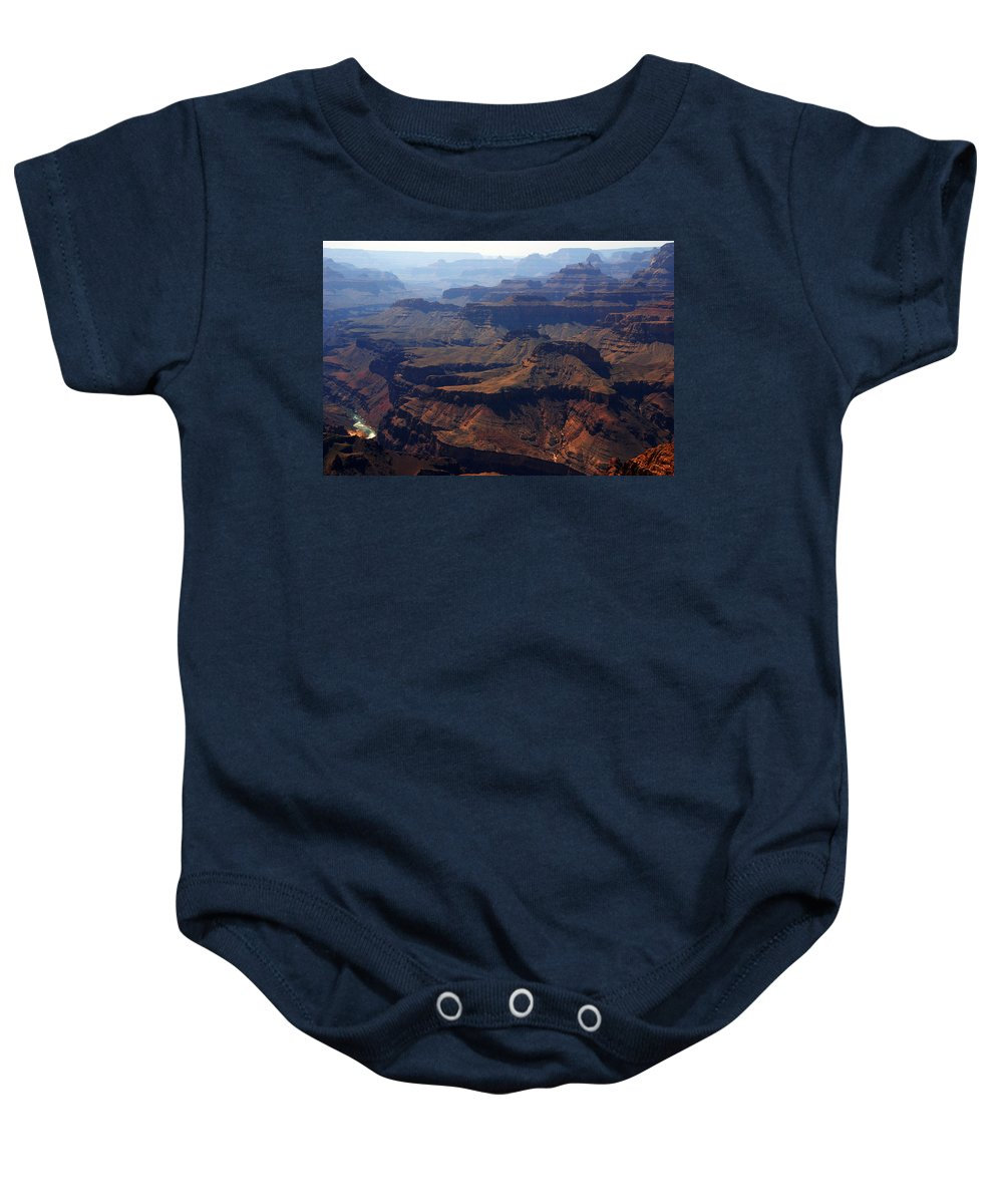 Colorado River Baby Onesie featuring the photograph The Colorado River by Susanne Van Hulst