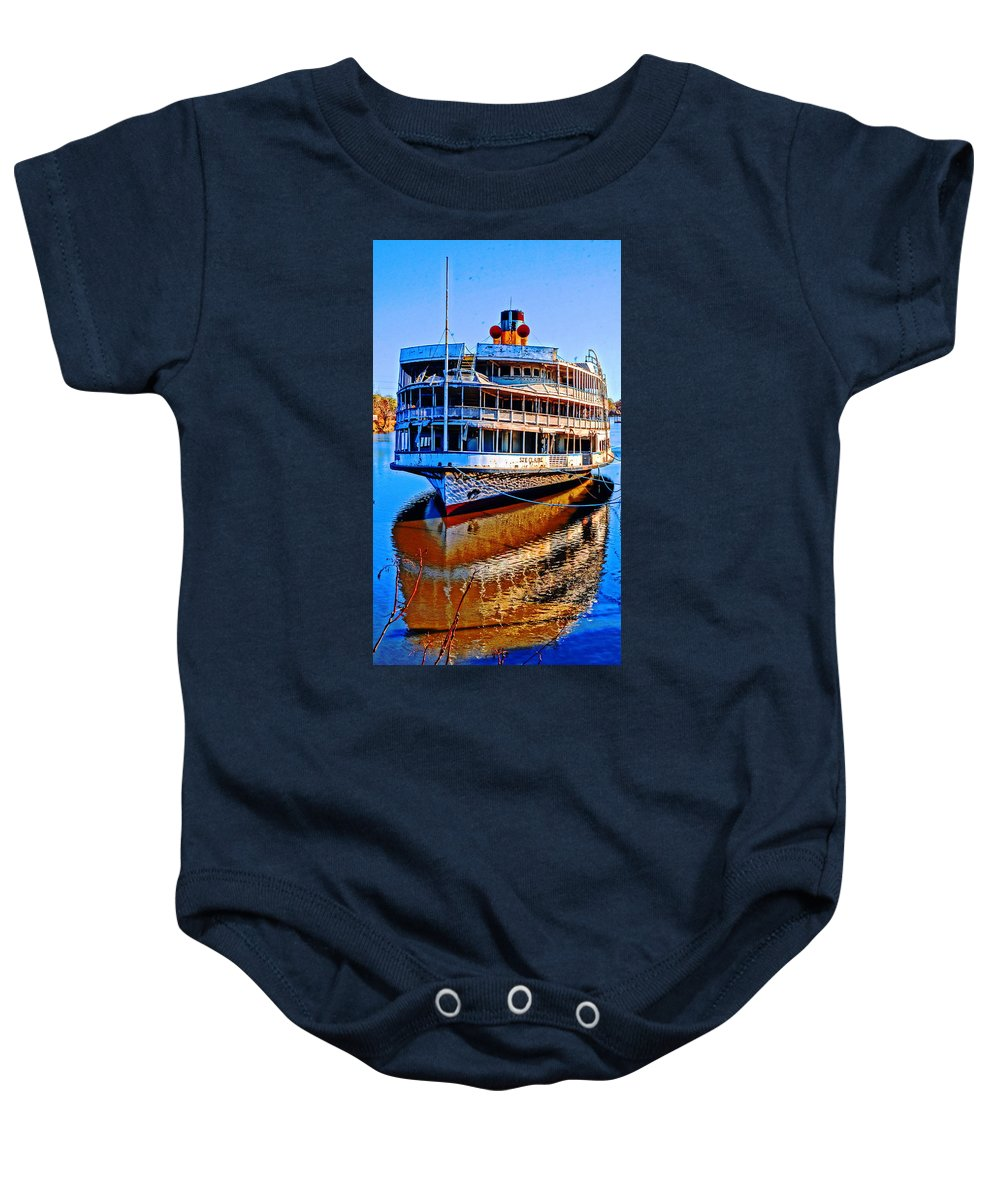 Baby Onesie featuring the photograph The Ste Claire by Daniel Thompson
