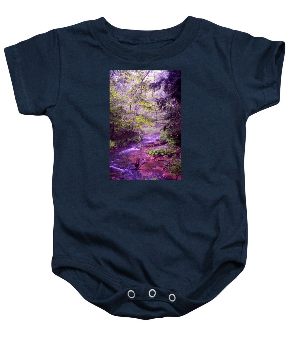 Water Baby Onesie featuring the photograph The Wonder Of Nature by John Stuart Webbstock