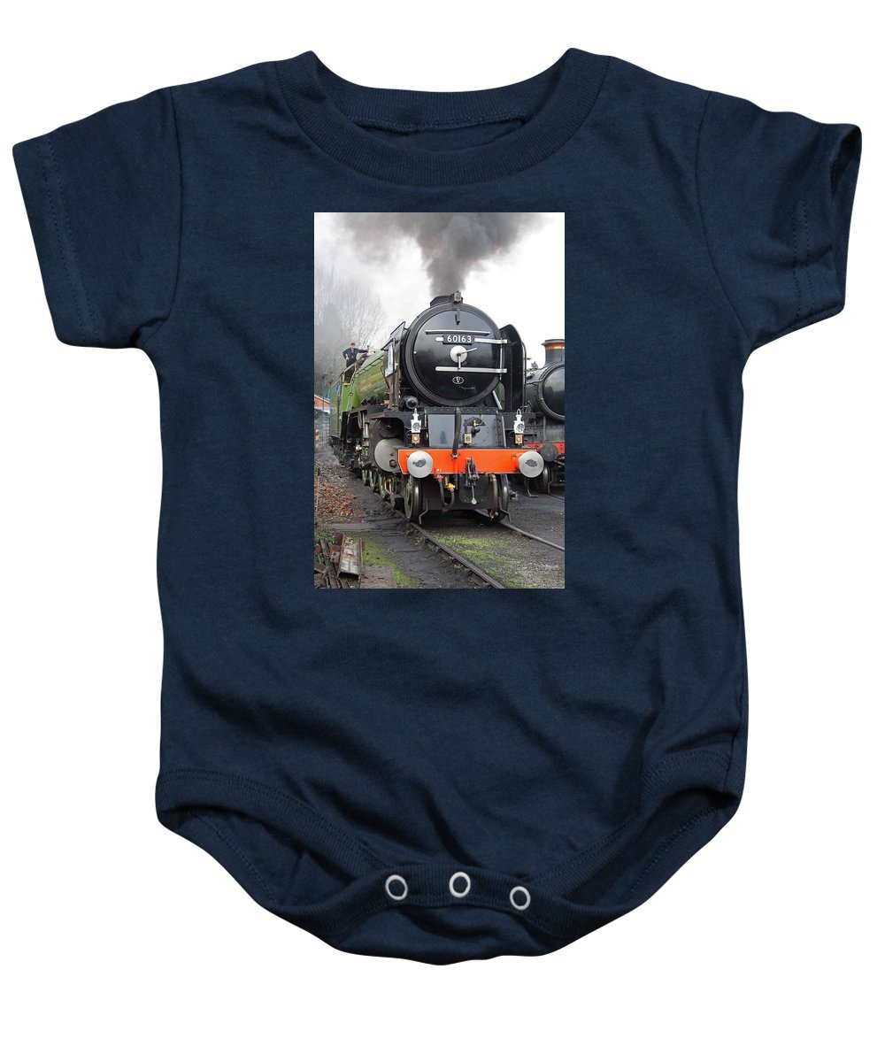 Steam Baby Onesie featuring the photograph Tornado Living Steam by Bob Kemp