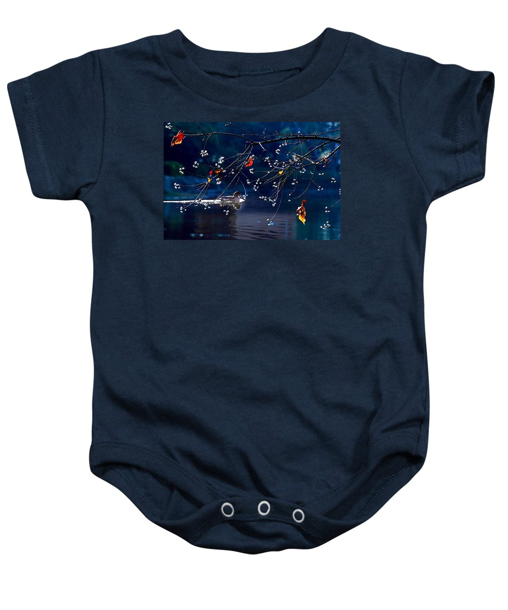 Water Baby Onesie featuring the photograph Trees In Japan 5 by George Cabig