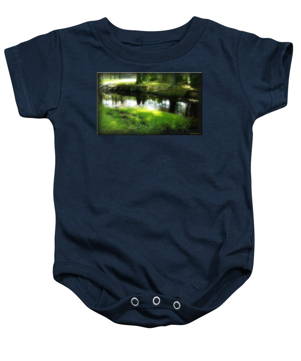 2d Baby Onesie featuring the photograph Unicorn Stream by Brian Wallace