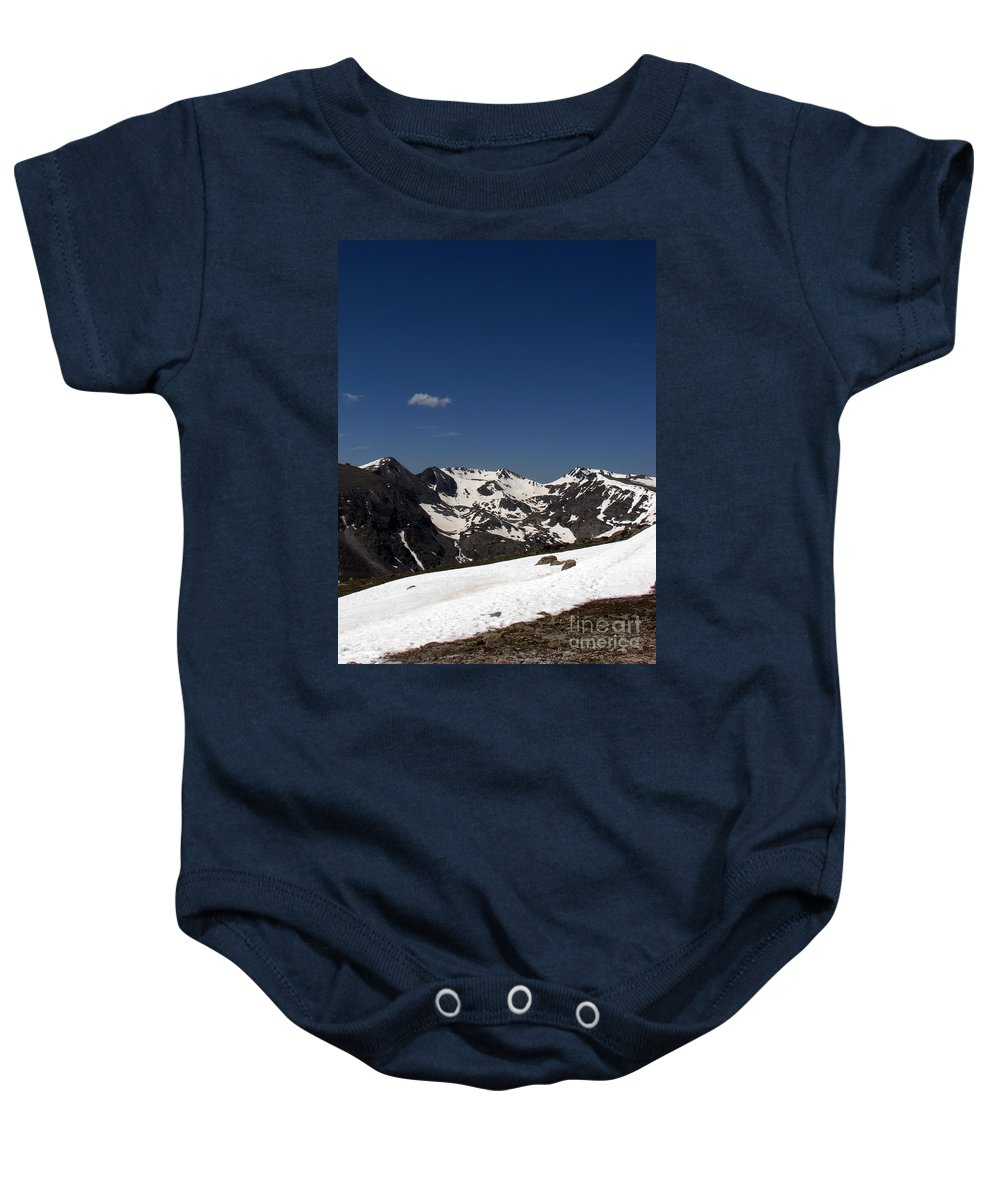 Colorado Baby Onesie featuring the photograph Vast Mother by Amanda Barcon