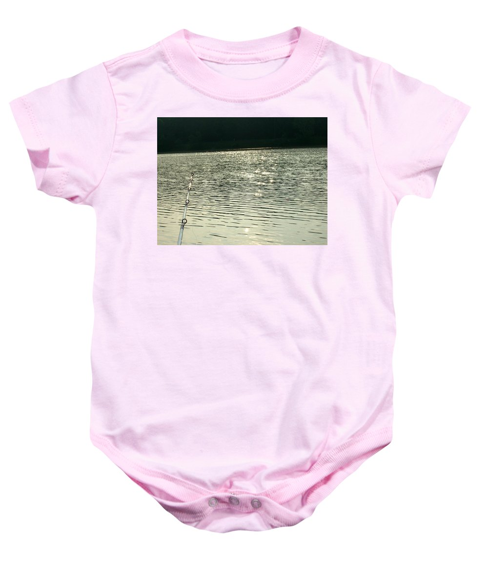 Lake Baby Onesie featuring the photograph 1259c by Kimberlie Gerner