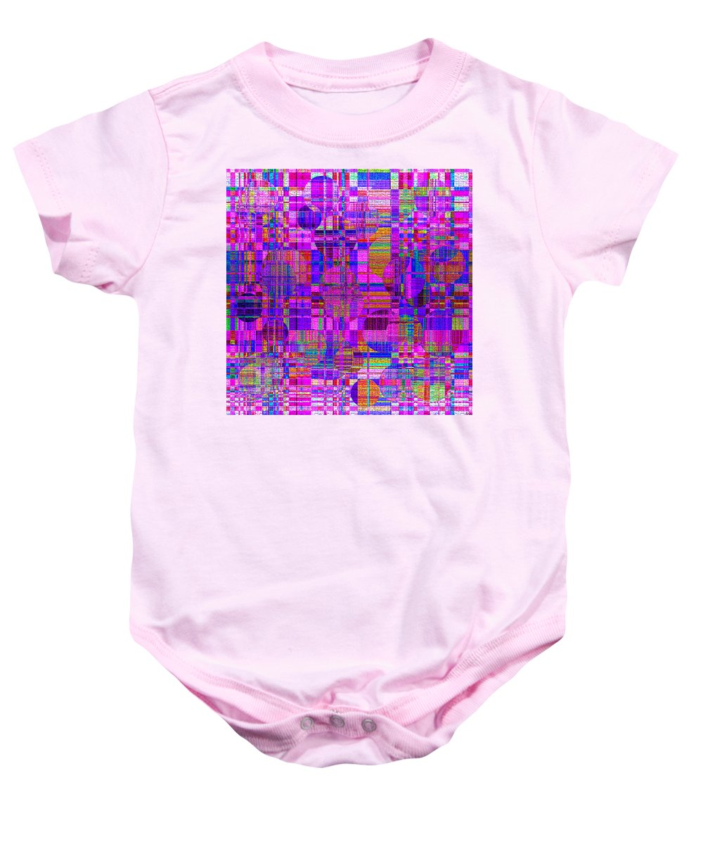 Abstract Baby Onesie featuring the digital art 1302 Abstract Thought by Chowdary V Arikatla