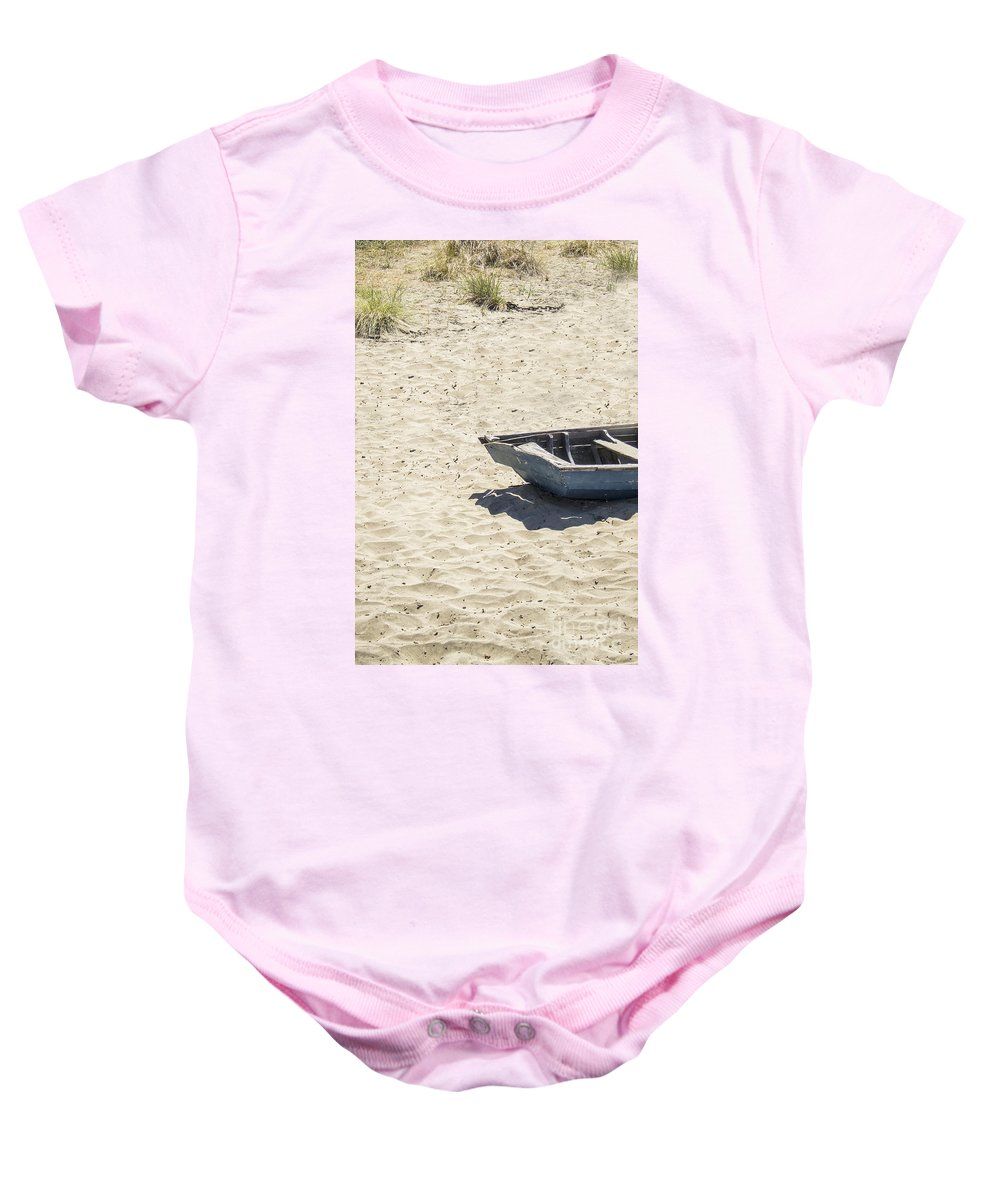 Boat Baby Onesie featuring the photograph Half by Margie Hurwich
