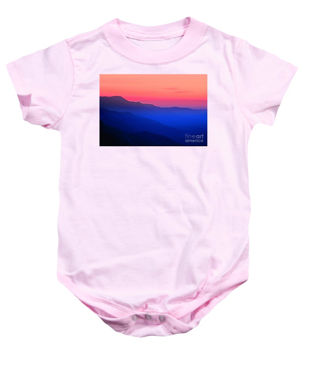 Digital Art Baby Onesie featuring the photograph 28696900-016m by Earl Johnson