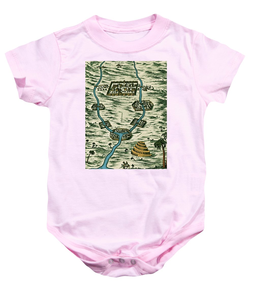 Art Baby Onesie featuring the photograph Tigris And Euphrates, Babylonia by Science Source