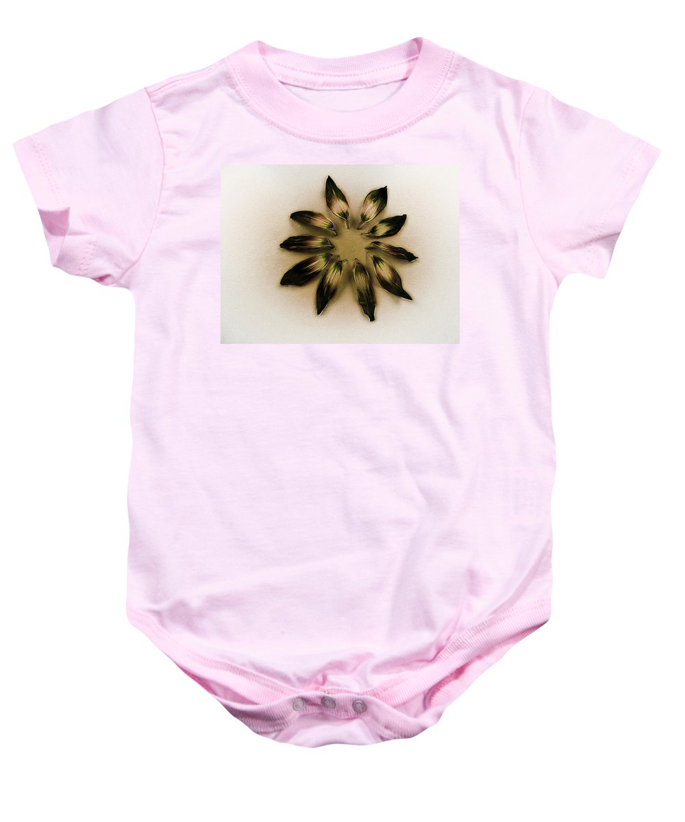 Art Baby Onesie featuring the photograph A Design Conference by Steve Taylor