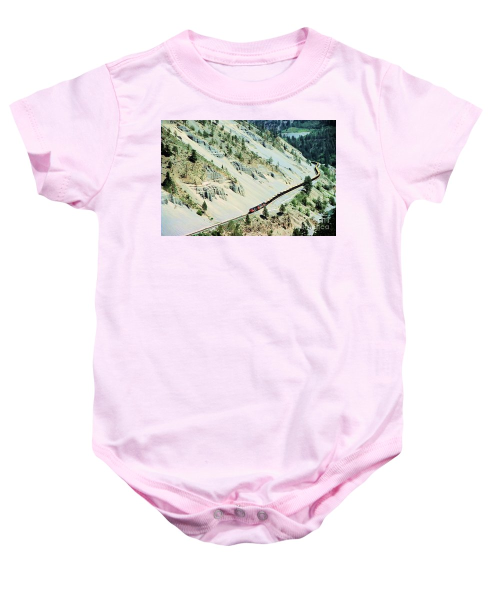 Fraser Baby Onesie featuring the photograph Along The Fraser by Roland Stanke