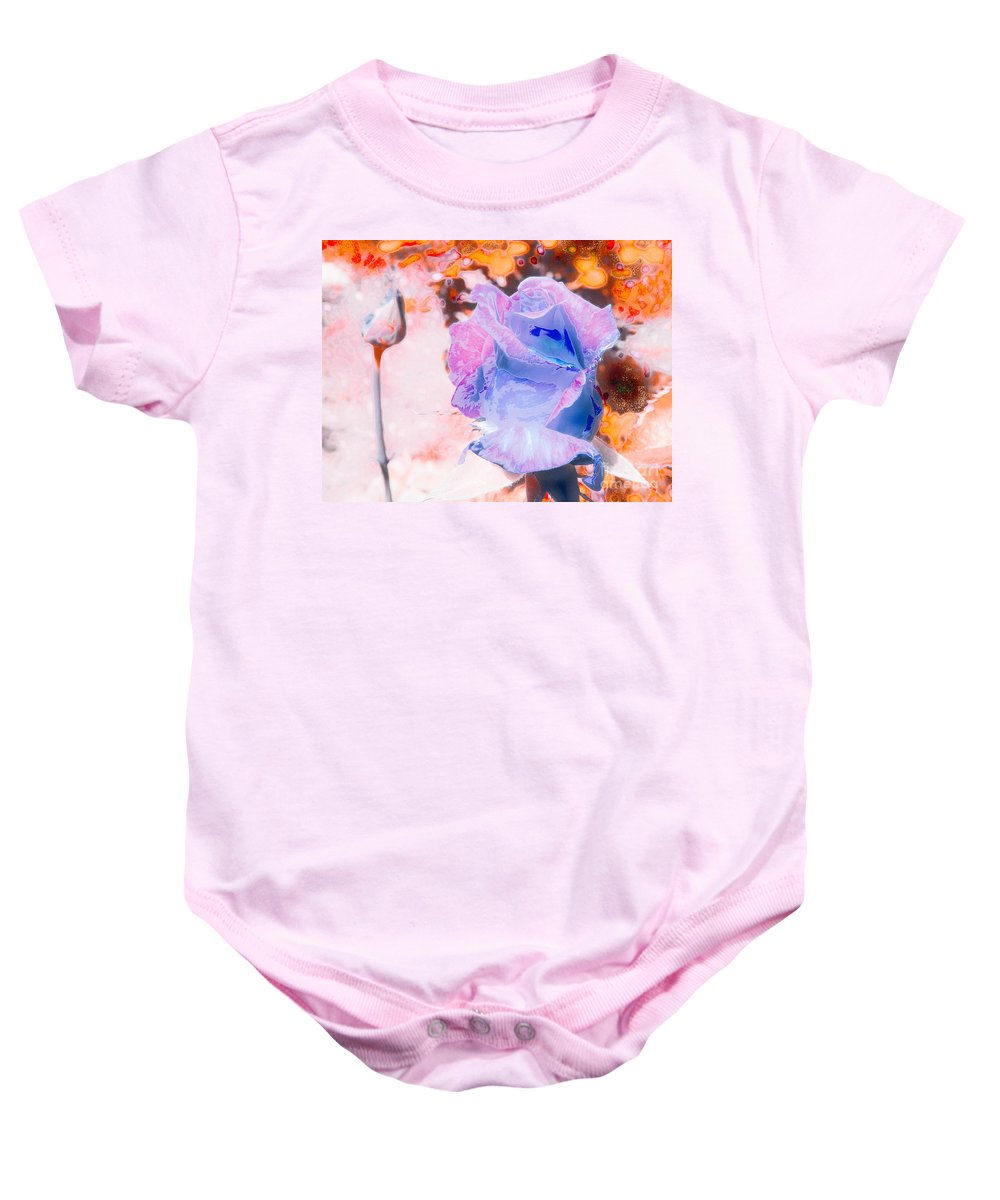 A1photo Baby Onesie featuring the photograph Altered States 00137_1 by Michael Wayman