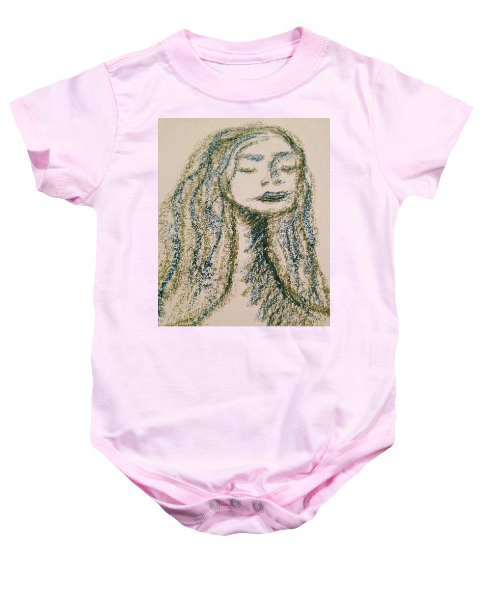 Long Baby Onesie featuring the photograph Art Therapy 132 by Michele Monk