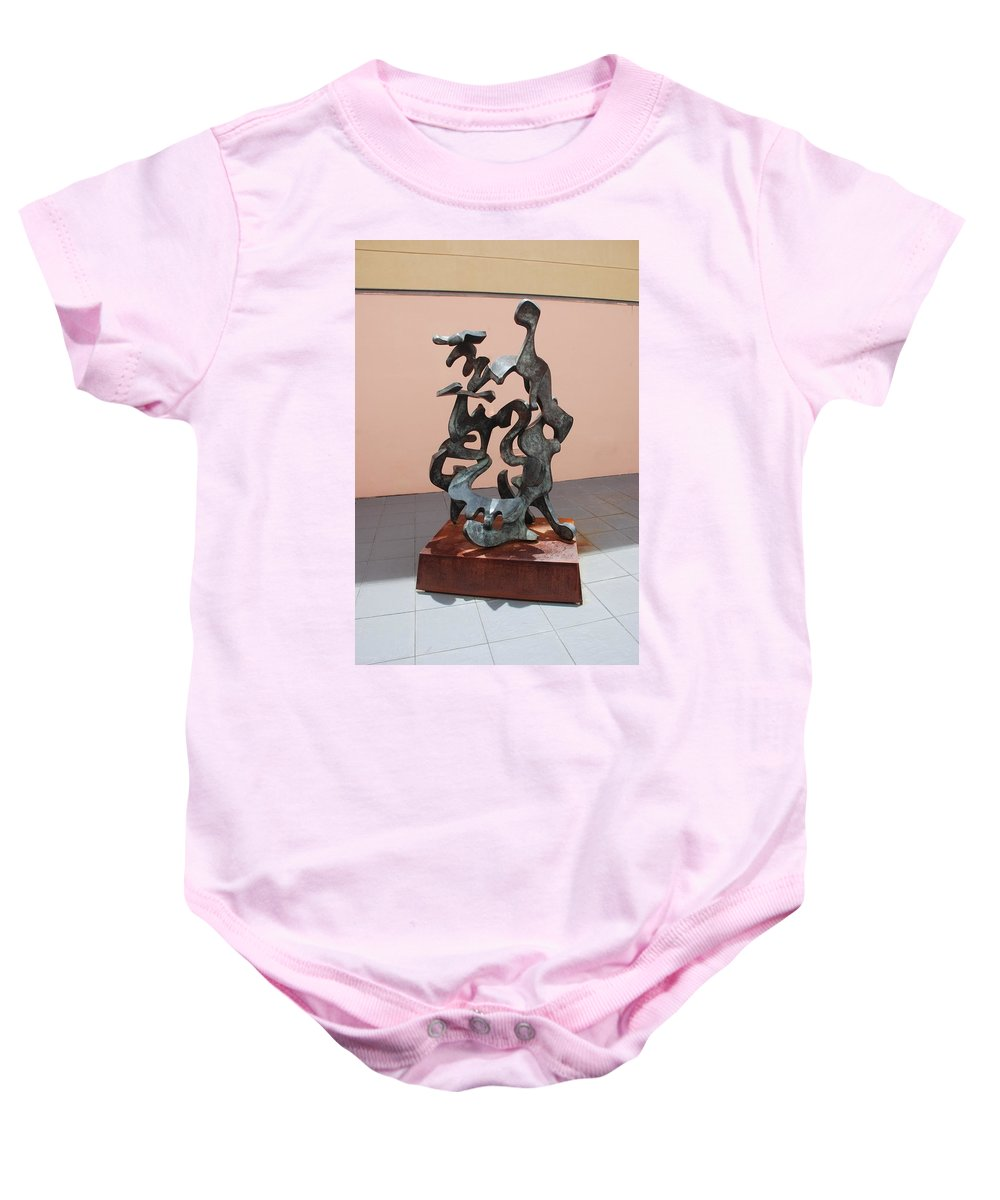 Sculptures Baby Onesie featuring the photograph Boca Sculpture by Rob Hans