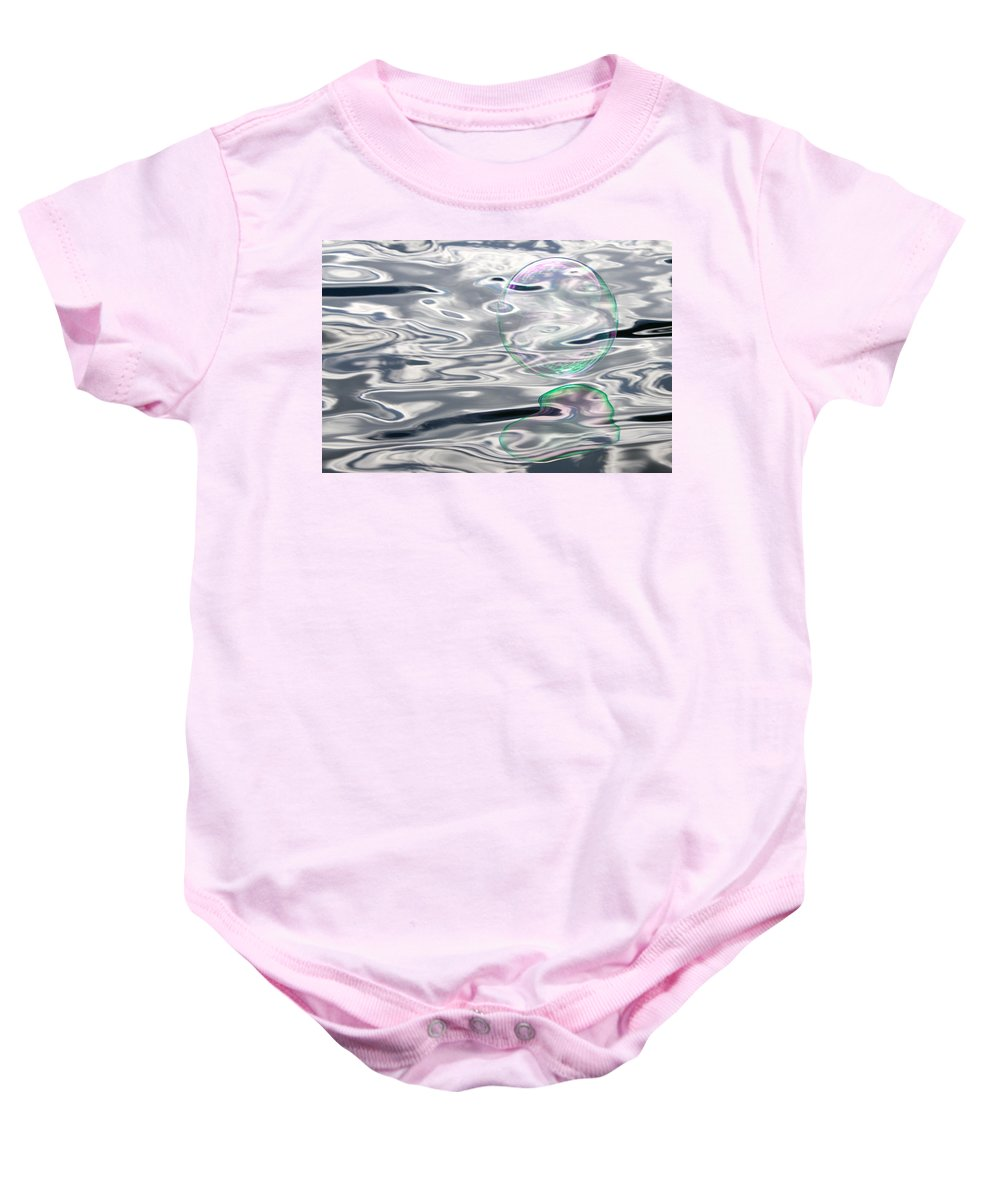 Bubble Baby Onesie featuring the photograph Bubble Love by Cathie Douglas