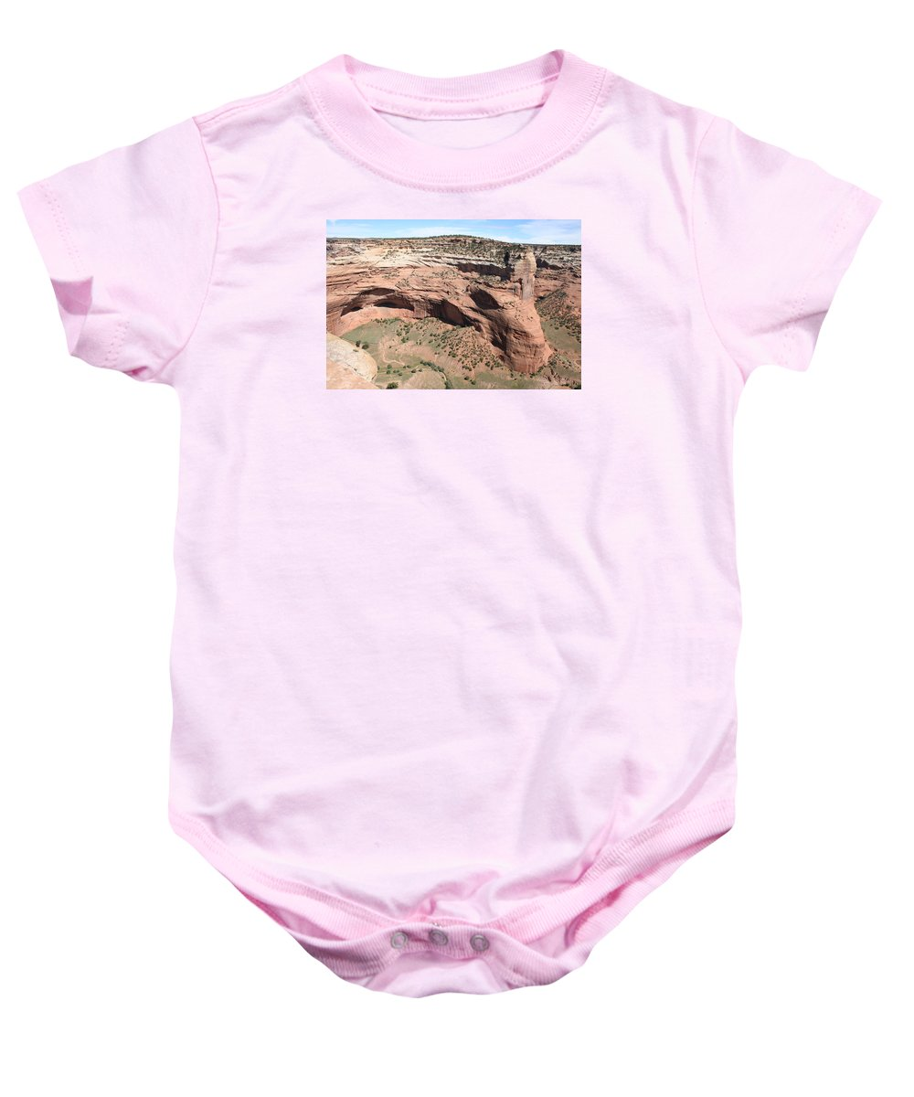 Canyon Baby Onesie featuring the photograph Canyon De Chelly I by Christiane Schulze Art And Photography