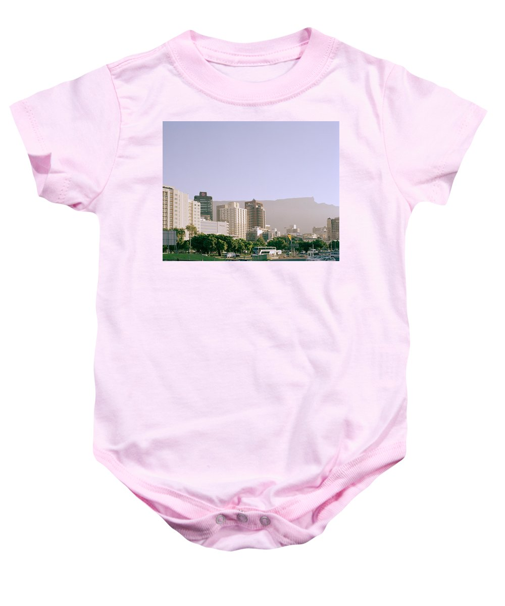 Cape Town Baby Onesie featuring the photograph Cape Town by Shaun Higson