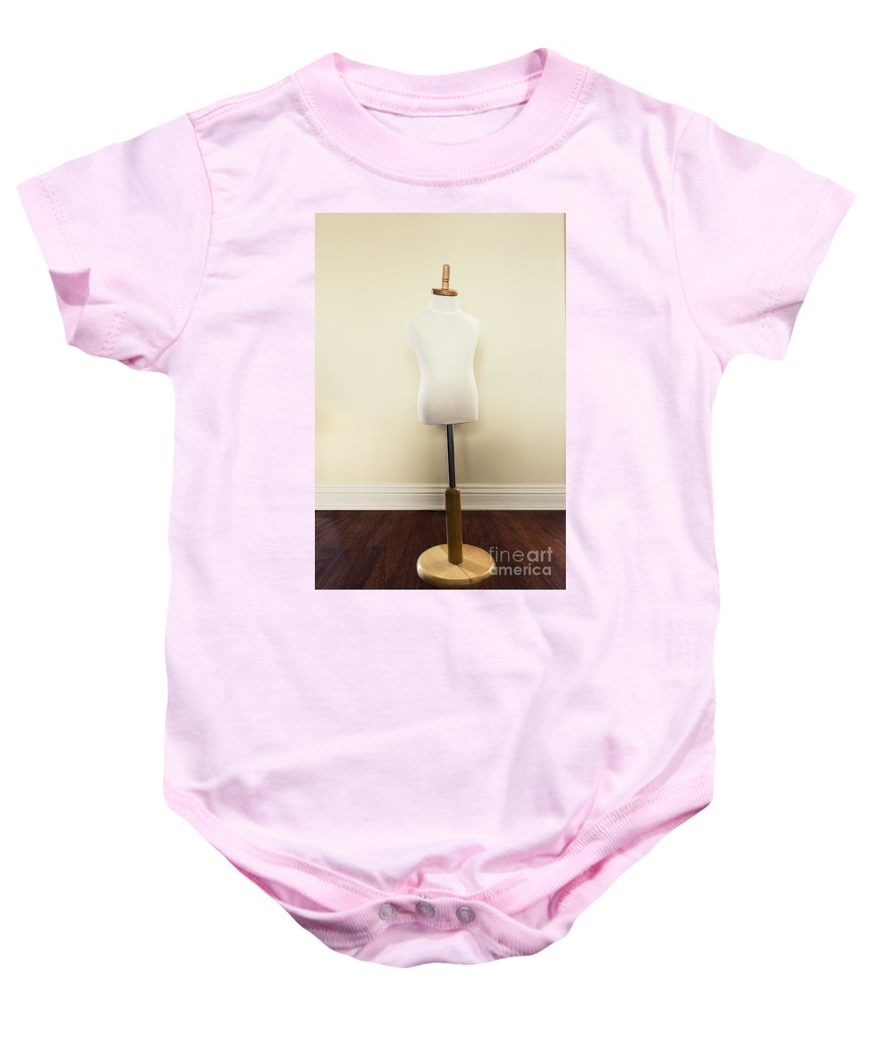 Antique Baby Onesie featuring the photograph Child Form by Margie Hurwich