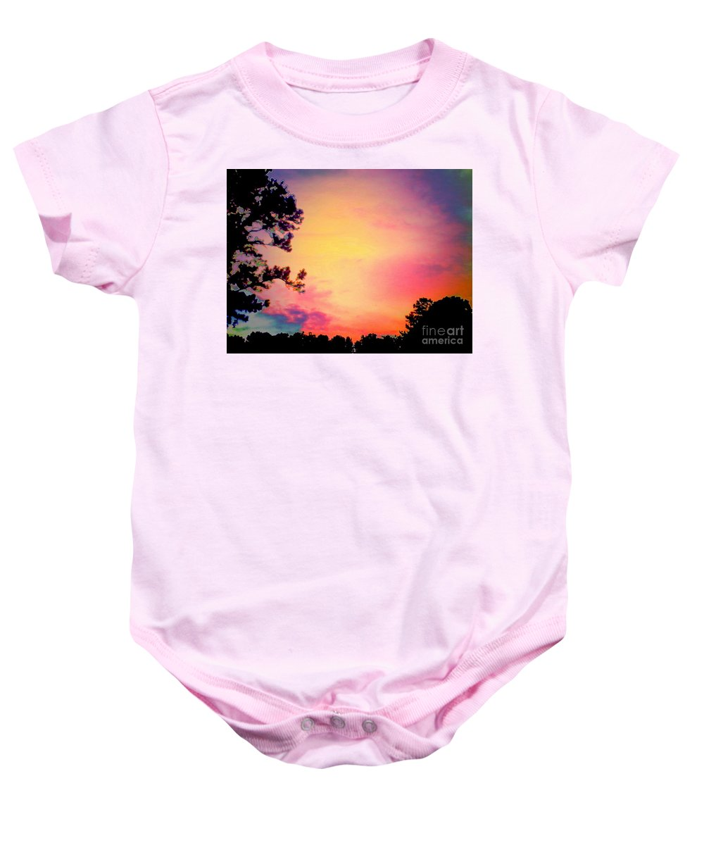 Dream-like Baby Onesie featuring the photograph Chimerical Dream by Heather Taylor