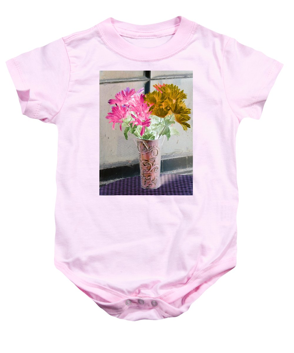 Flower Baby Onesie featuring the photograph Country Comfort - Photopower 485 by Pamela Critchlow
