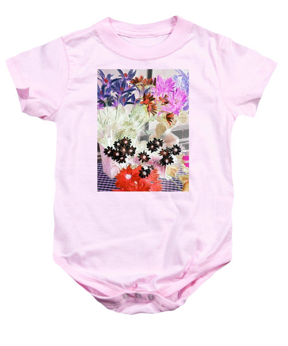 Flower Baby Onesie featuring the photograph Country Comfort - Photopower 529 by Pamela Critchlow
