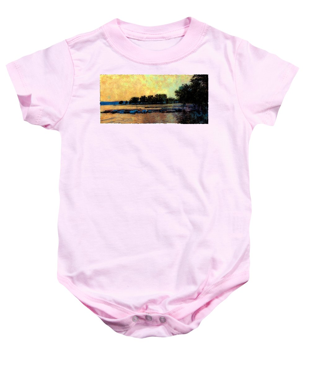 Boats Baby Onesie featuring the photograph Dream by Madeline Ellis