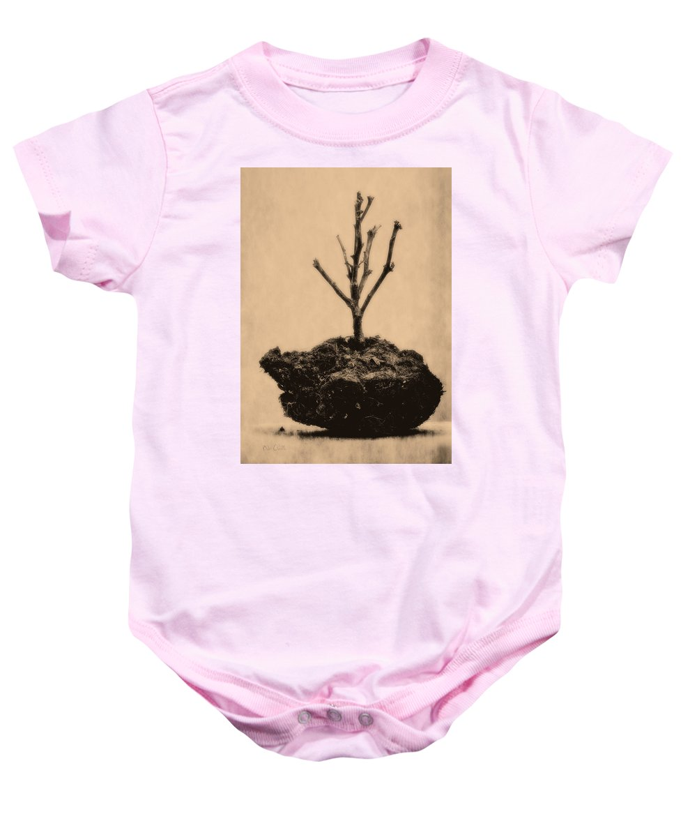 Drought Baby Onesie featuring the photograph Drought by Bob Orsillo