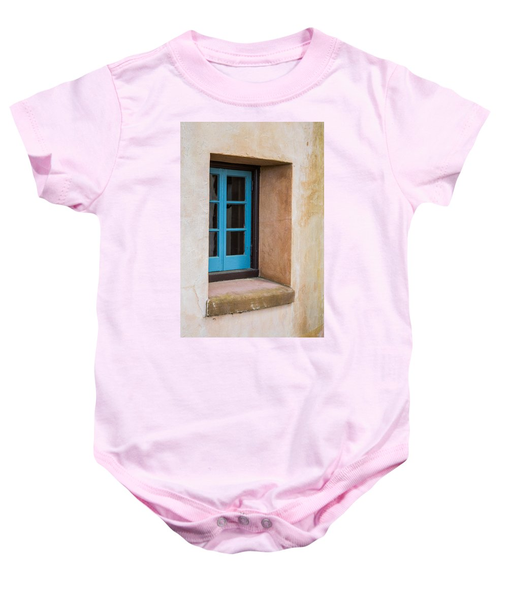 Window Baby Onesie featuring the photograph Estate Window by Shannon Harrington