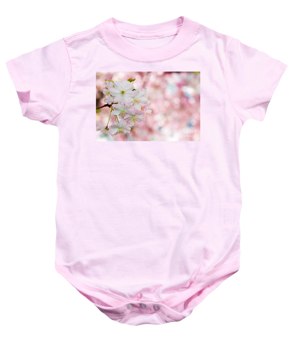 Blossom Baby Onesie featuring the photograph Finest Spring Time by Hannes Cmarits