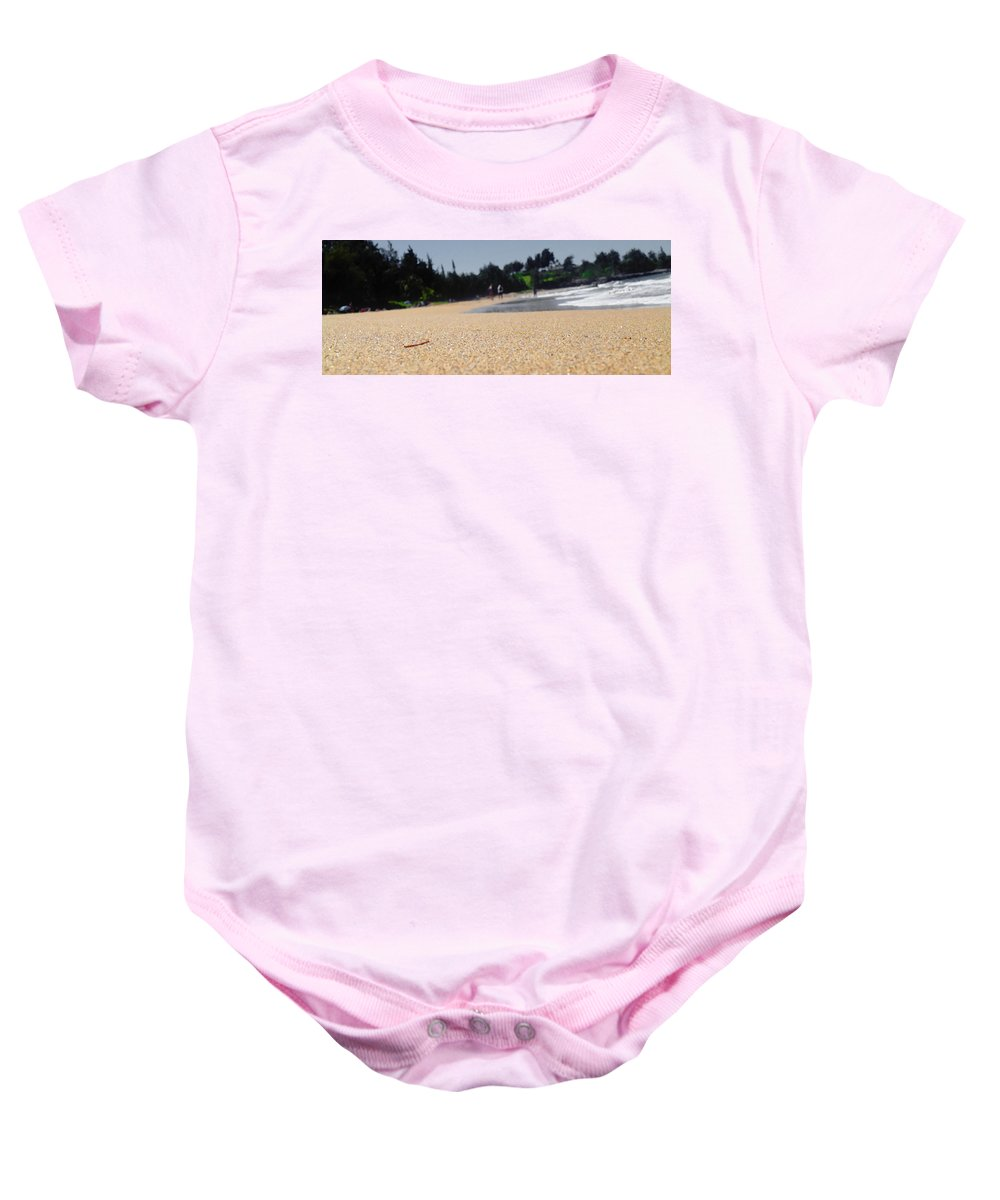 Photography Baby Onesie featuring the photograph Organic Material by Marcello Cicchini