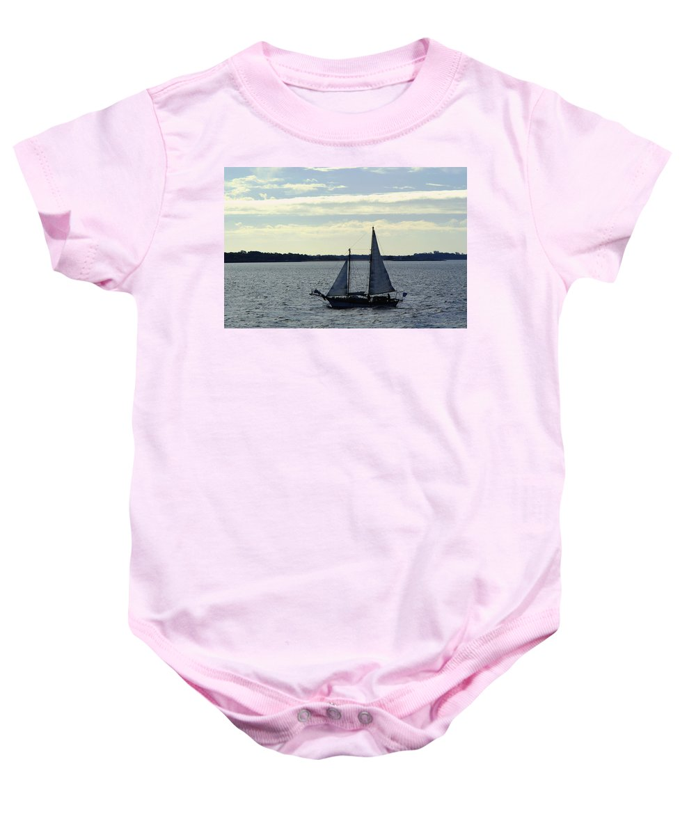 Sail Baby Onesie featuring the photograph Sailin by Pablo Rosales