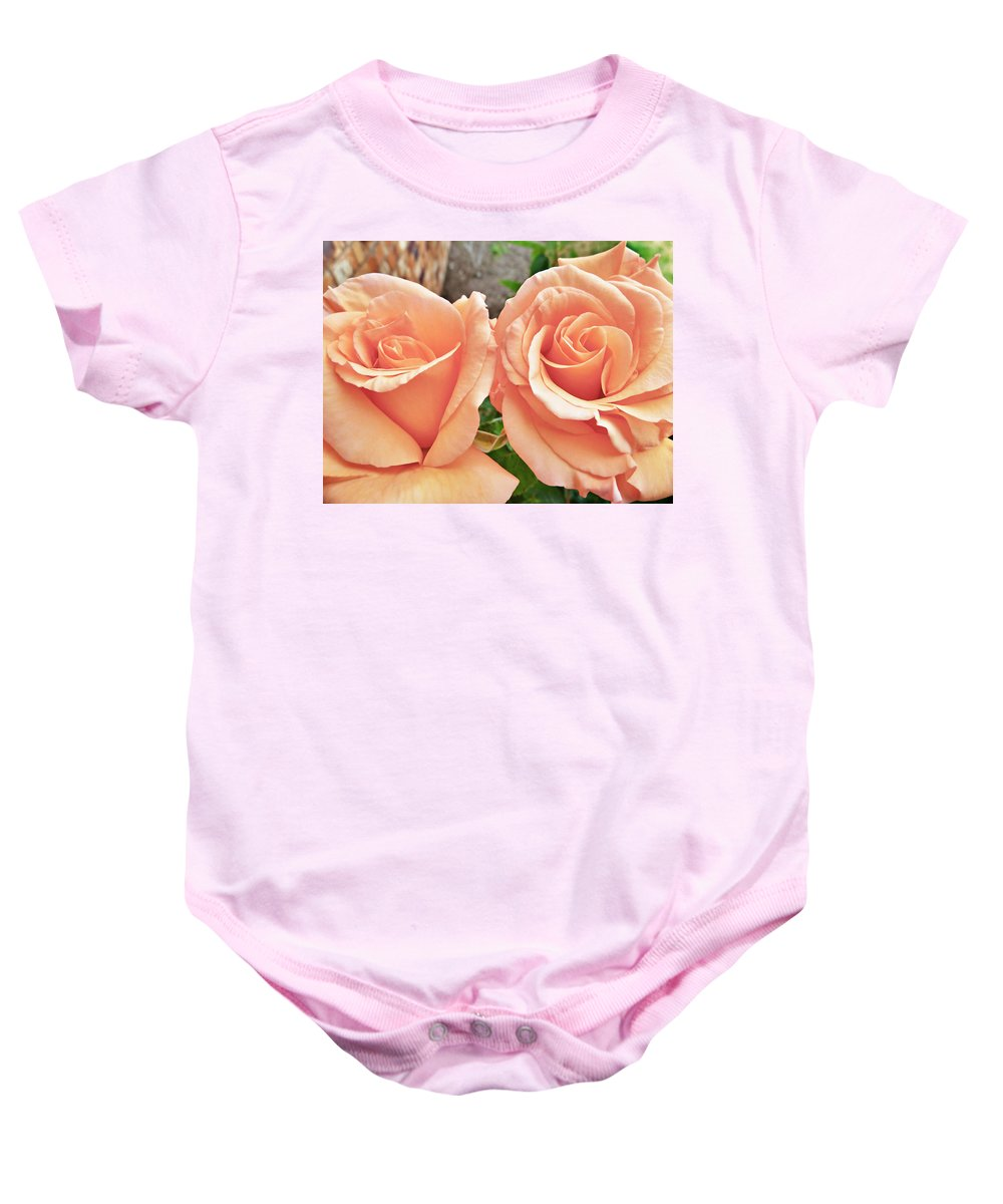 Sisters Baby Onesie featuring the photograph Sisters by Steve Taylor