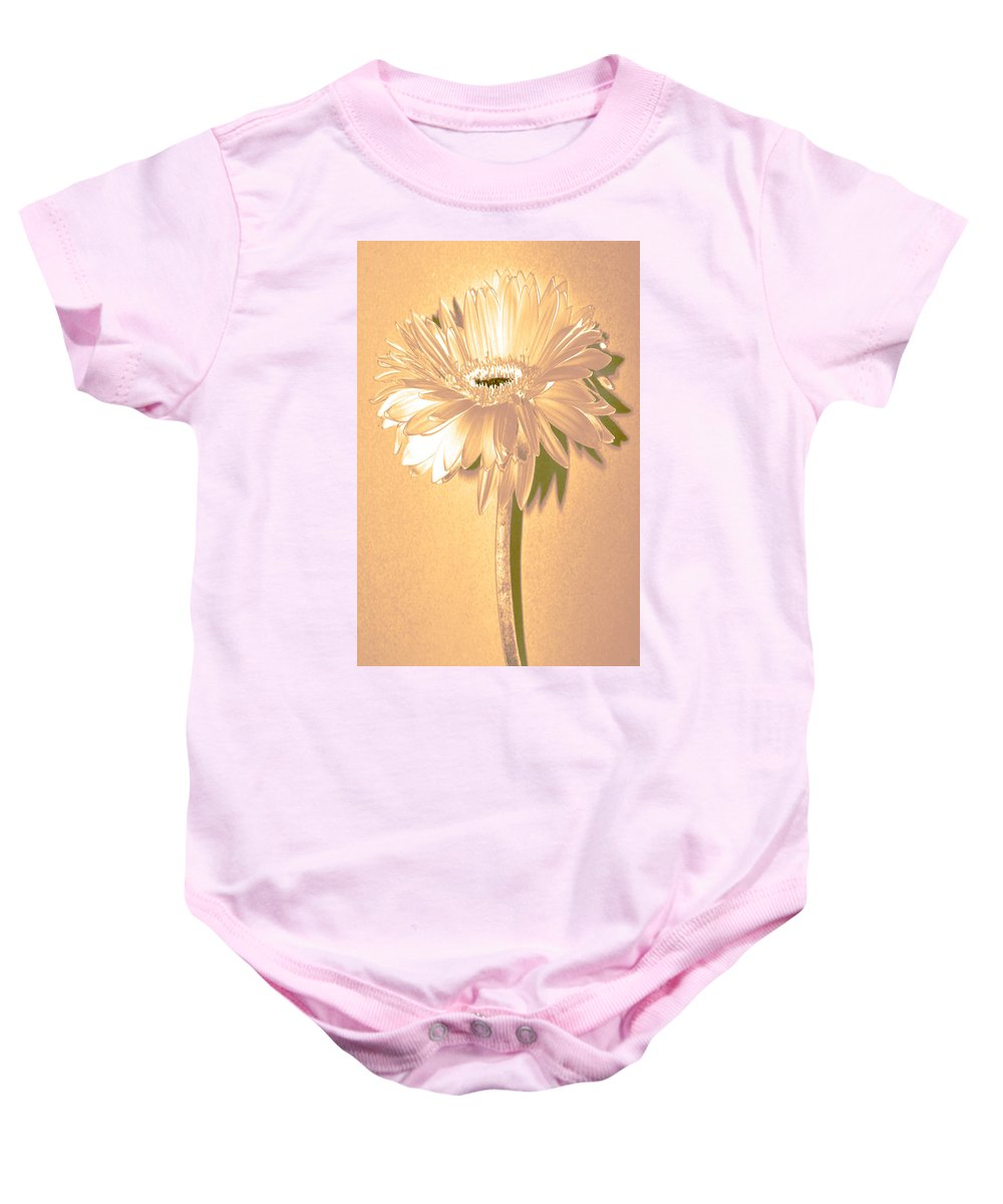 Original Photo Baby Onesie featuring the photograph Slice Of Lime by Sherry Allen