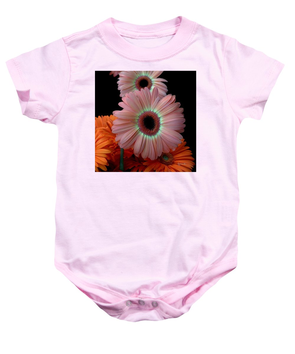 Gerberas Baby Onesie featuring the photograph Third Place by RC deWinter
