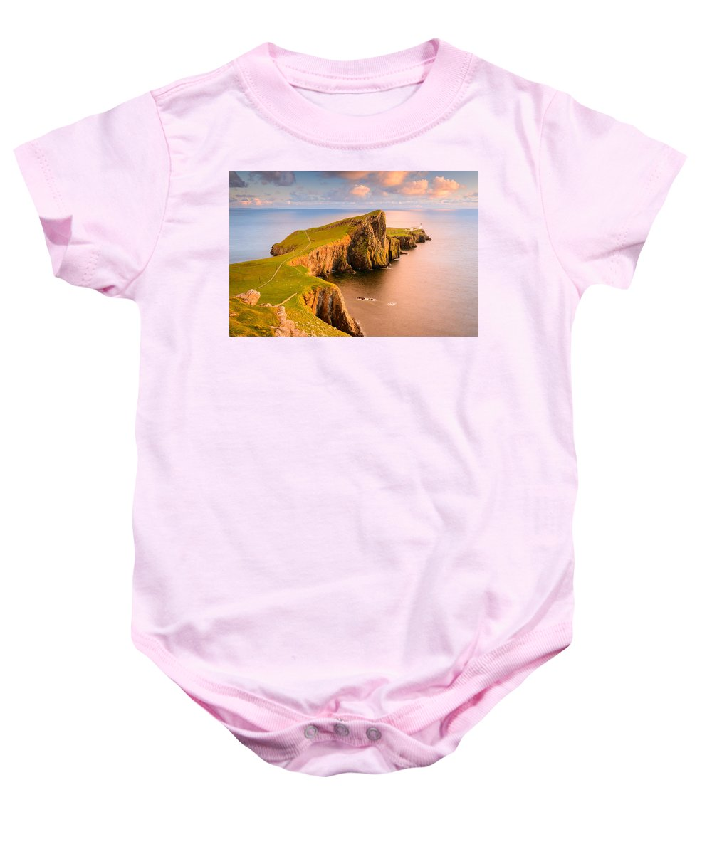Europe Baby Onesie featuring the photograph Tippity Tip by Michael Blanchette