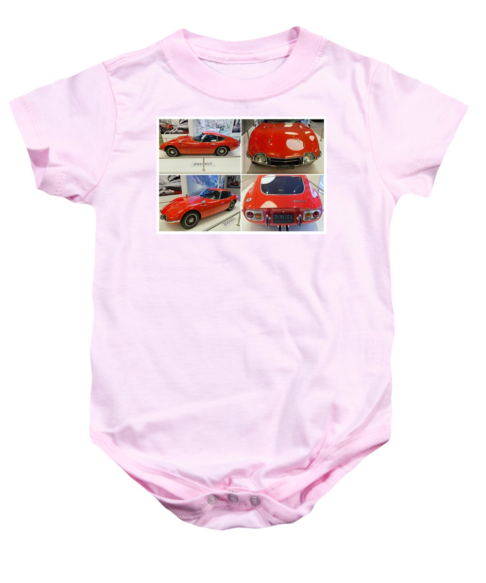 Toyota Baby Onesie featuring the photograph Toyota 2000 Gt by Maj Seda
