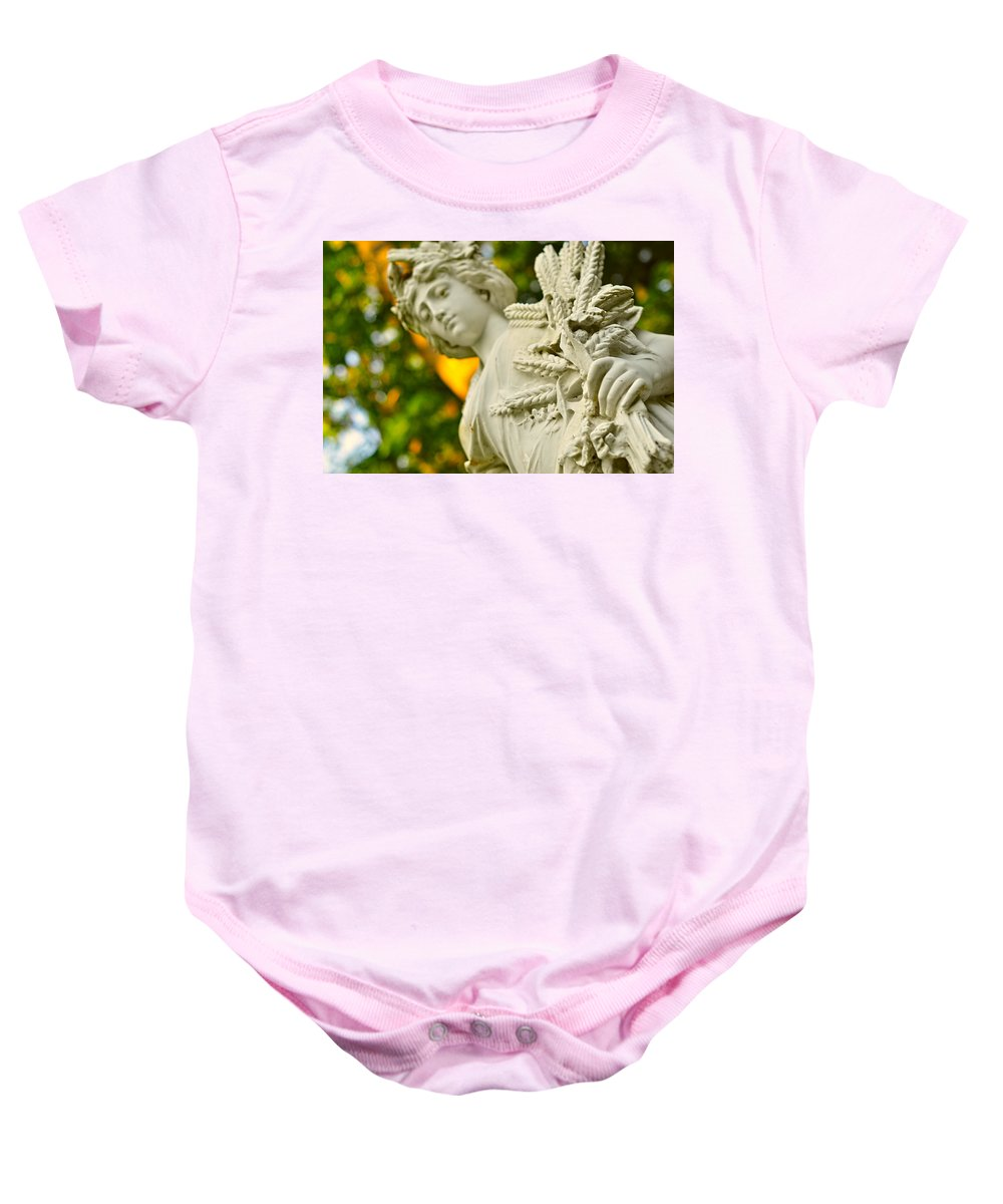 Landscape Baby Onesie featuring the photograph Yaddo Season 3 by Tina Baxter