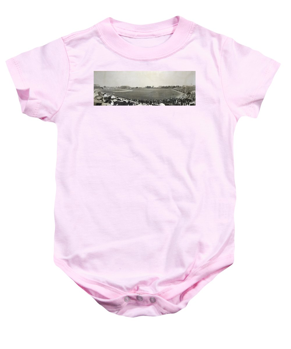 1904 Baby Onesie featuring the photograph Baseball Game, 1904 by Granger