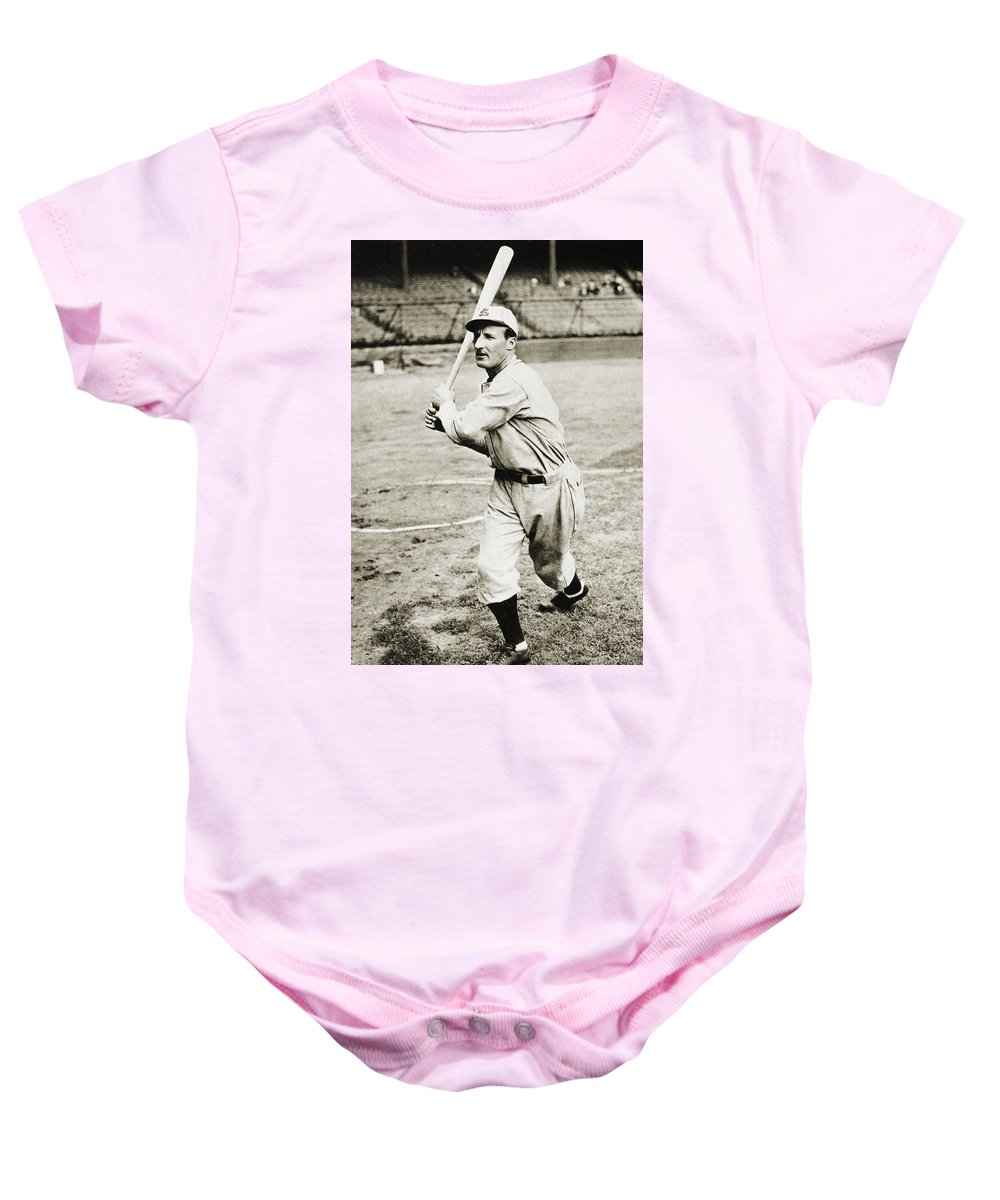1930 Baby Onesie featuring the photograph Leon Goslin (1900-1971) by Granger