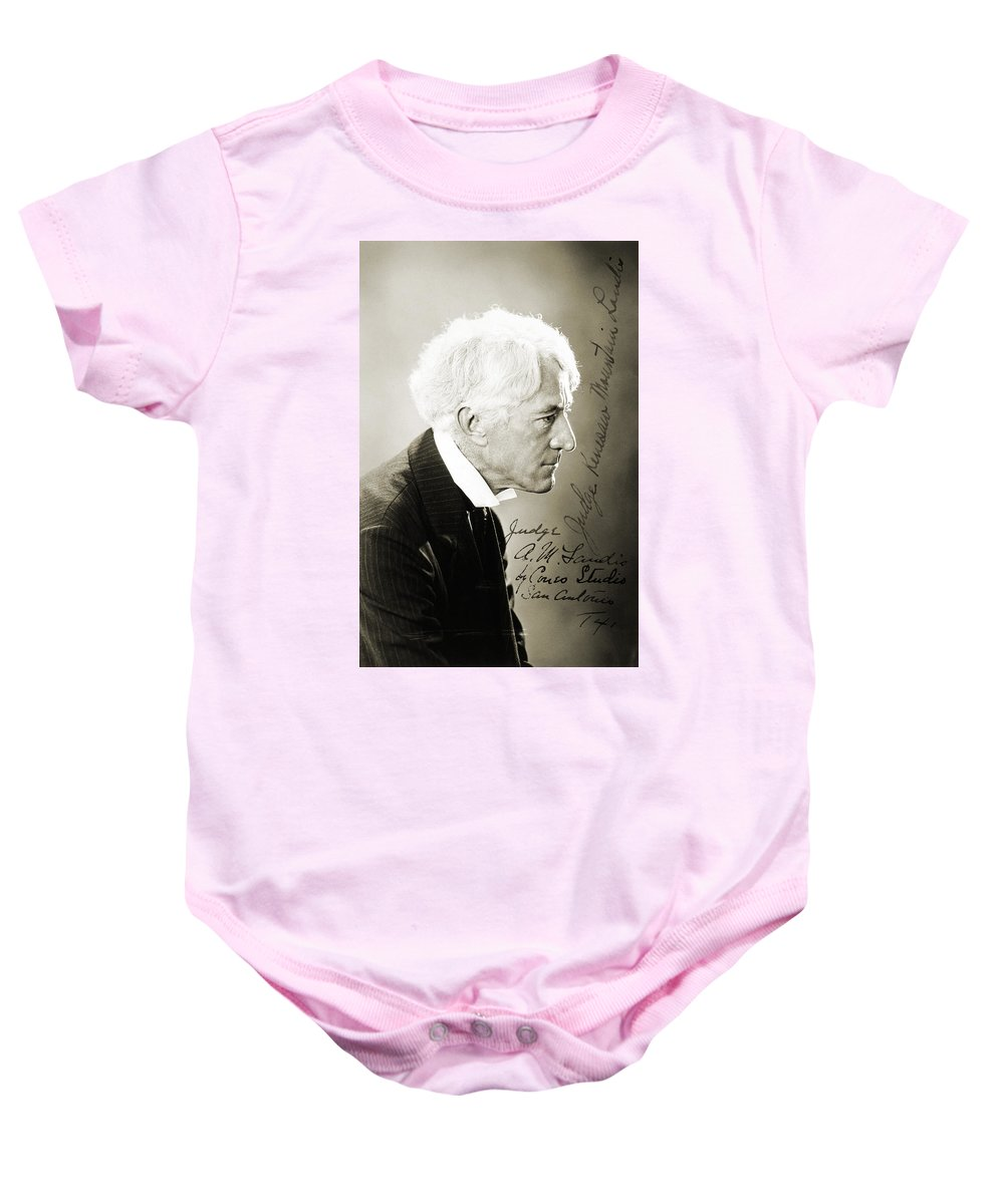 19th Century Baby Onesie featuring the photograph Kenesaw Mountain Landis by Granger