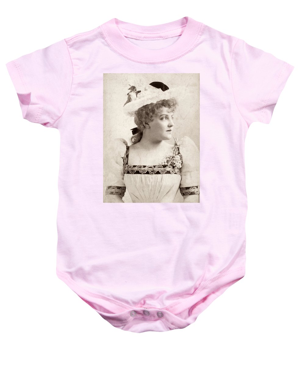 1891 Baby Onesie featuring the photograph Lillian Russell (1861-1922) by Granger