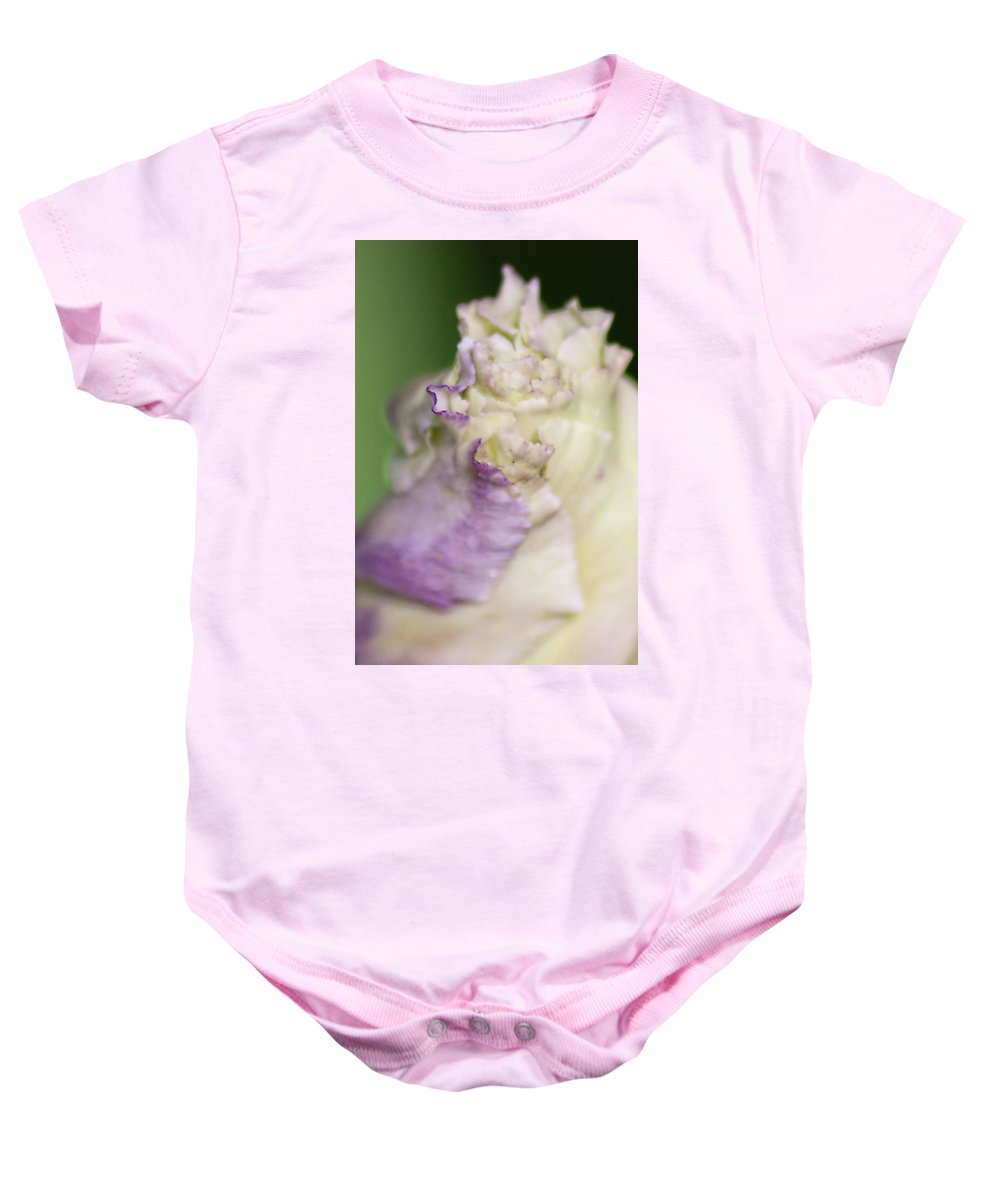 Flower Baby Onesie featuring the photograph Bud by Sarah Wiggins