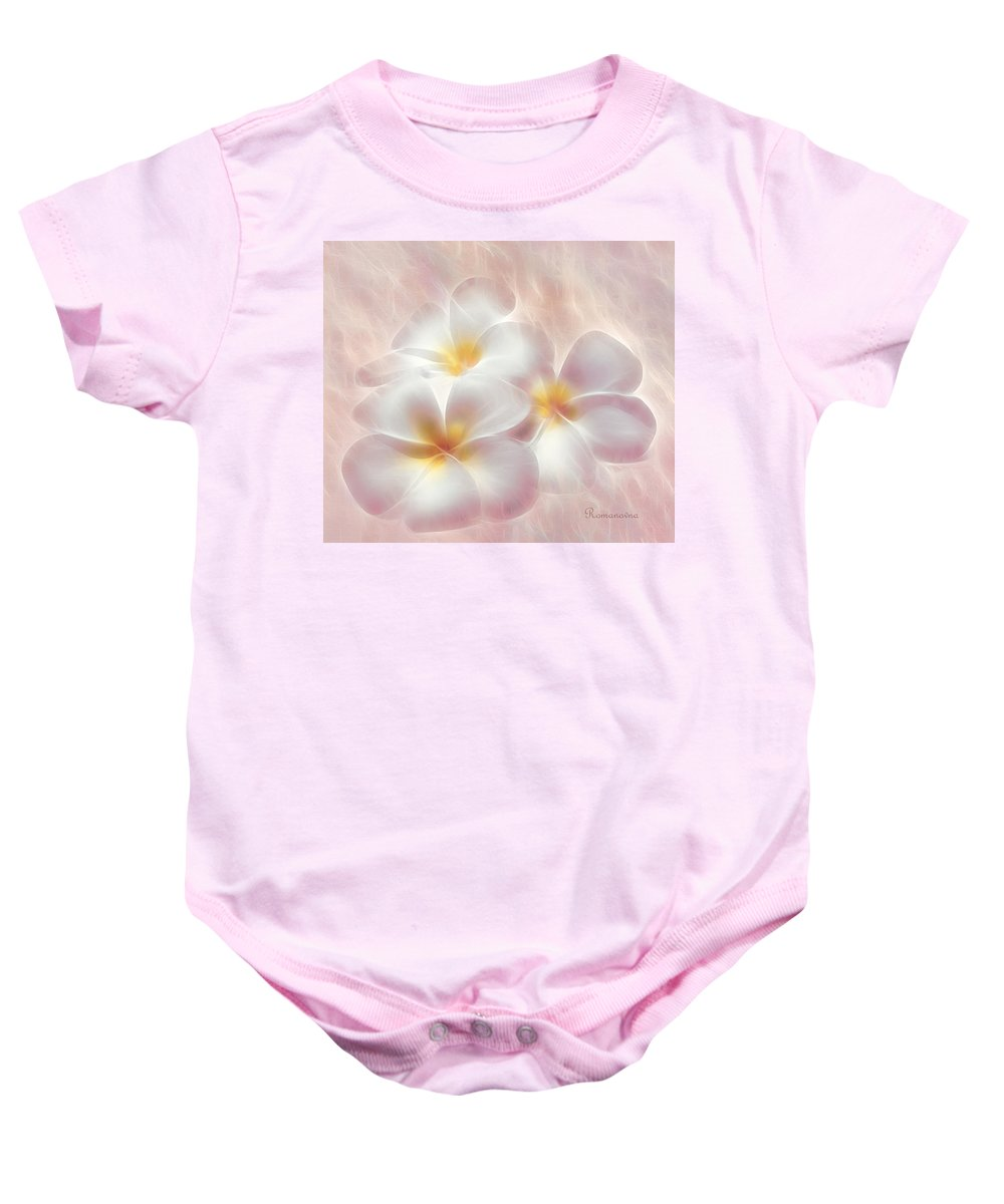 Expressionism Baby Onesie featuring the mixed media Dreams Of You by Georgiana Romanovna