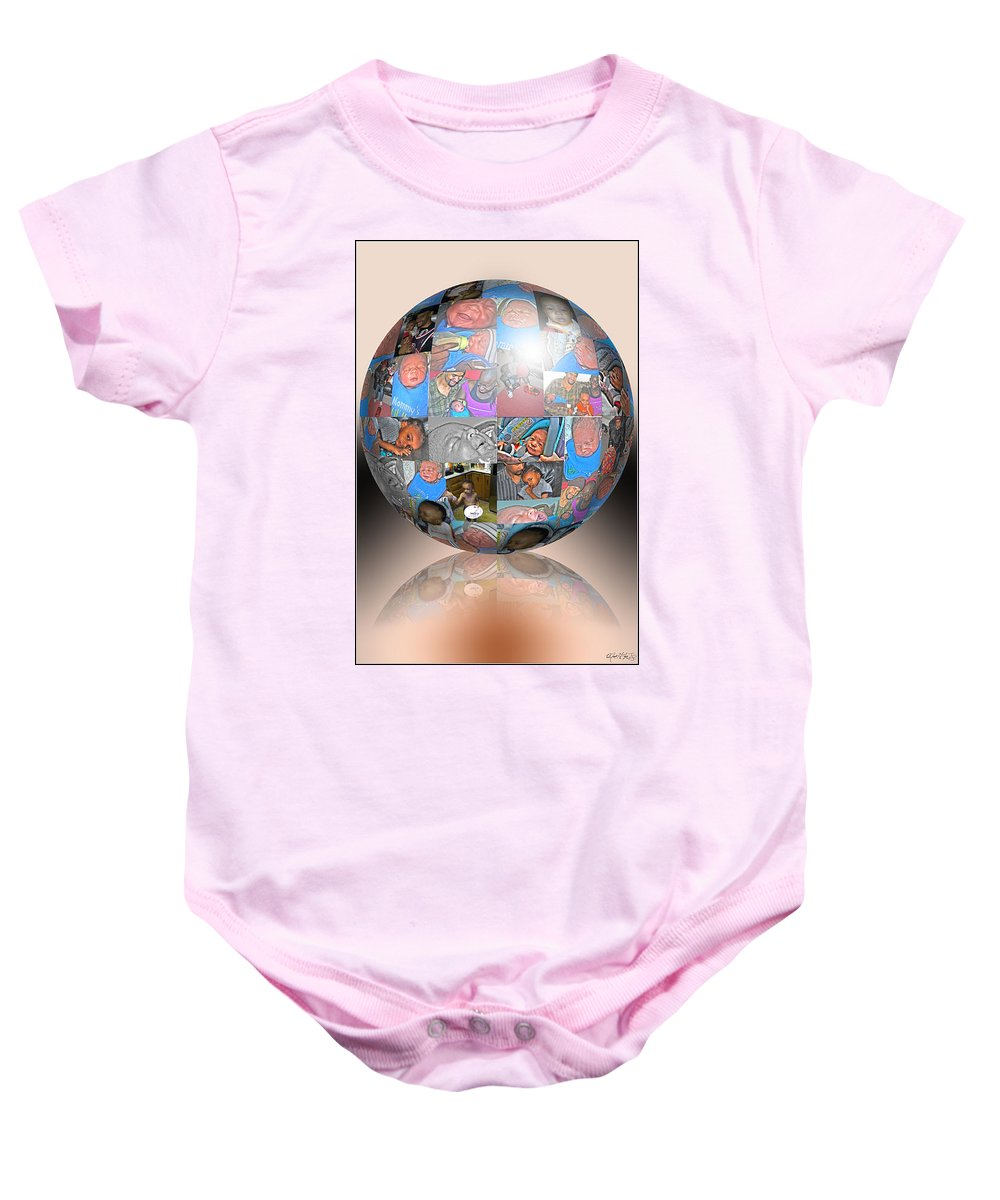 Baby Onesie featuring the photograph Family by Michael Frank Jr