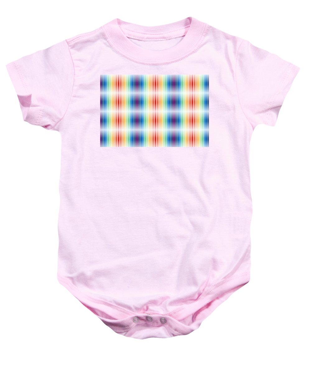 Light Baby Onesie featuring the photograph Horizontal Lights by Munir Alawi