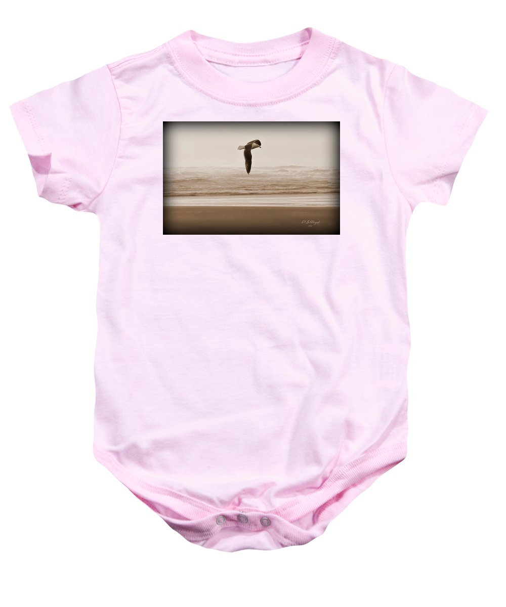 Bird Baby Onesie featuring the photograph Jonathon by Jeanette C Landstrom