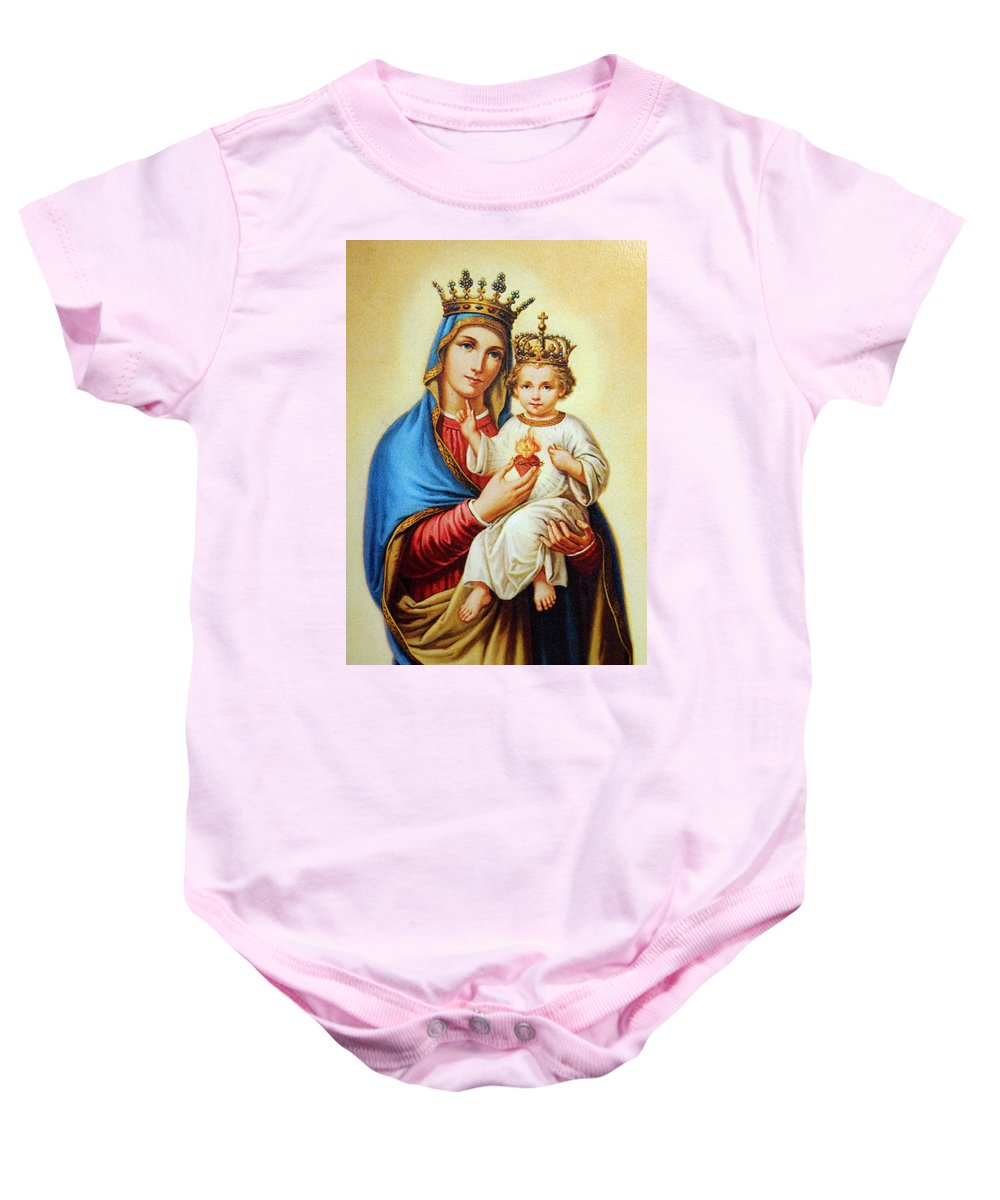 Blue Baby Onesie featuring the photograph King Of Kings by Munir Alawi