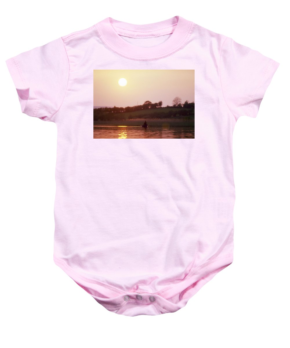 Fishing Baby Onesie featuring the photograph Lough Arrow, Co Sligo, Ireland, Angling by The Irish Image Collection