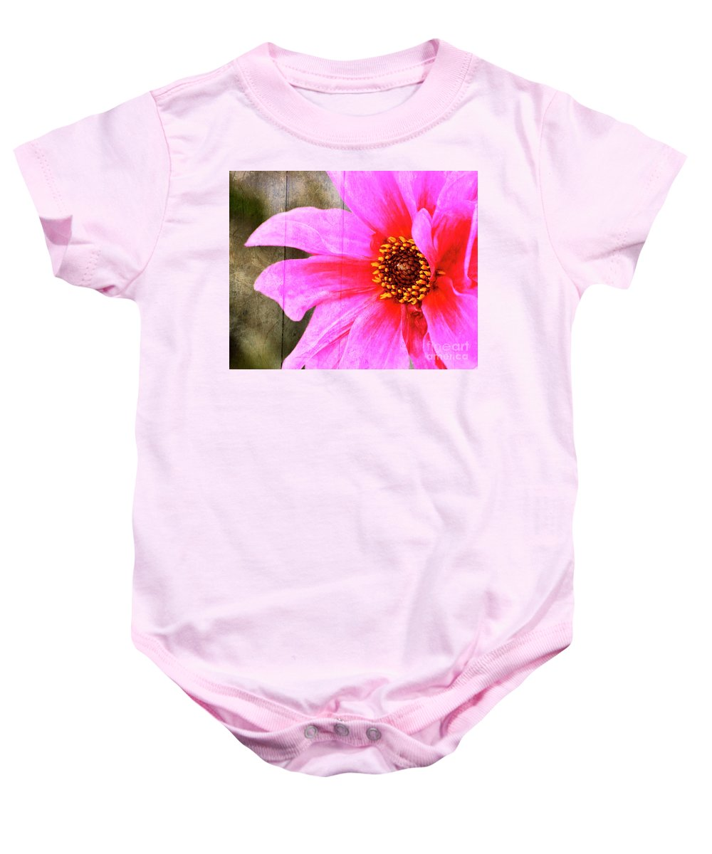 Pink Baby Onesie featuring the photograph Pink Power by Traci Cottingham