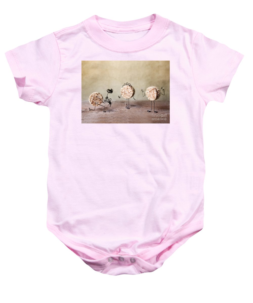 Body Baby Onesie featuring the photograph Simple Things 05 by Nailia Schwarz