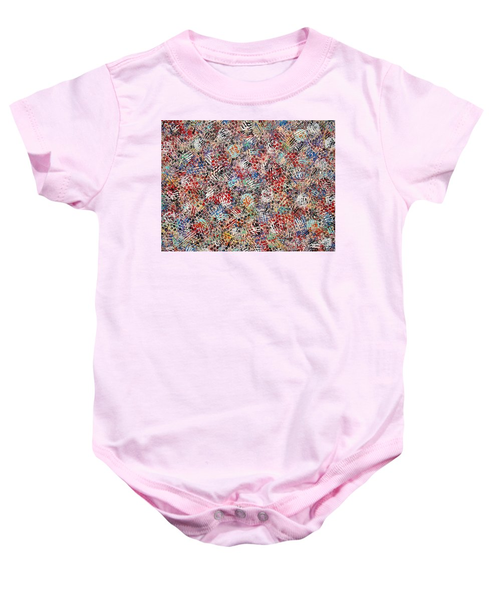 Golf Baby Onesie featuring the painting Golf by Natalie Holland